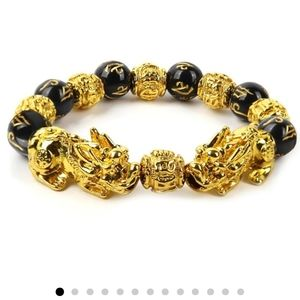 Luck and wealth bracelet